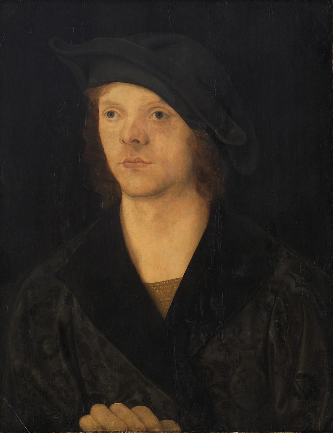 Bildnis eines jungen Mannes von Jacopo de' Barbari