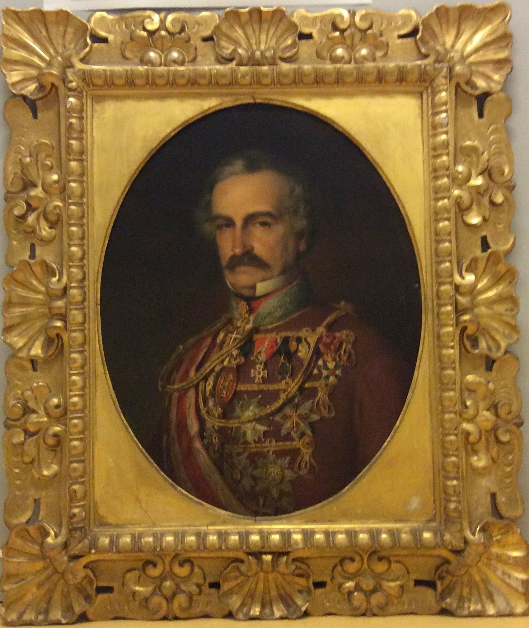Carl Alexander Anselm Baron von Hügel von Josef Neugebauer