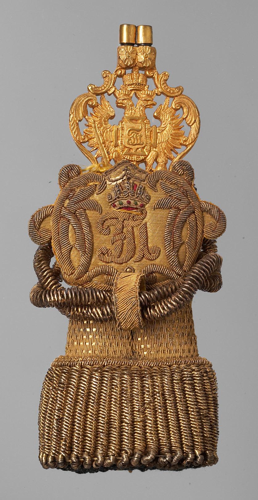 Unterstabelmeister-Ehrenzeichen Kaiser Franz Josephs I. mit Quaste