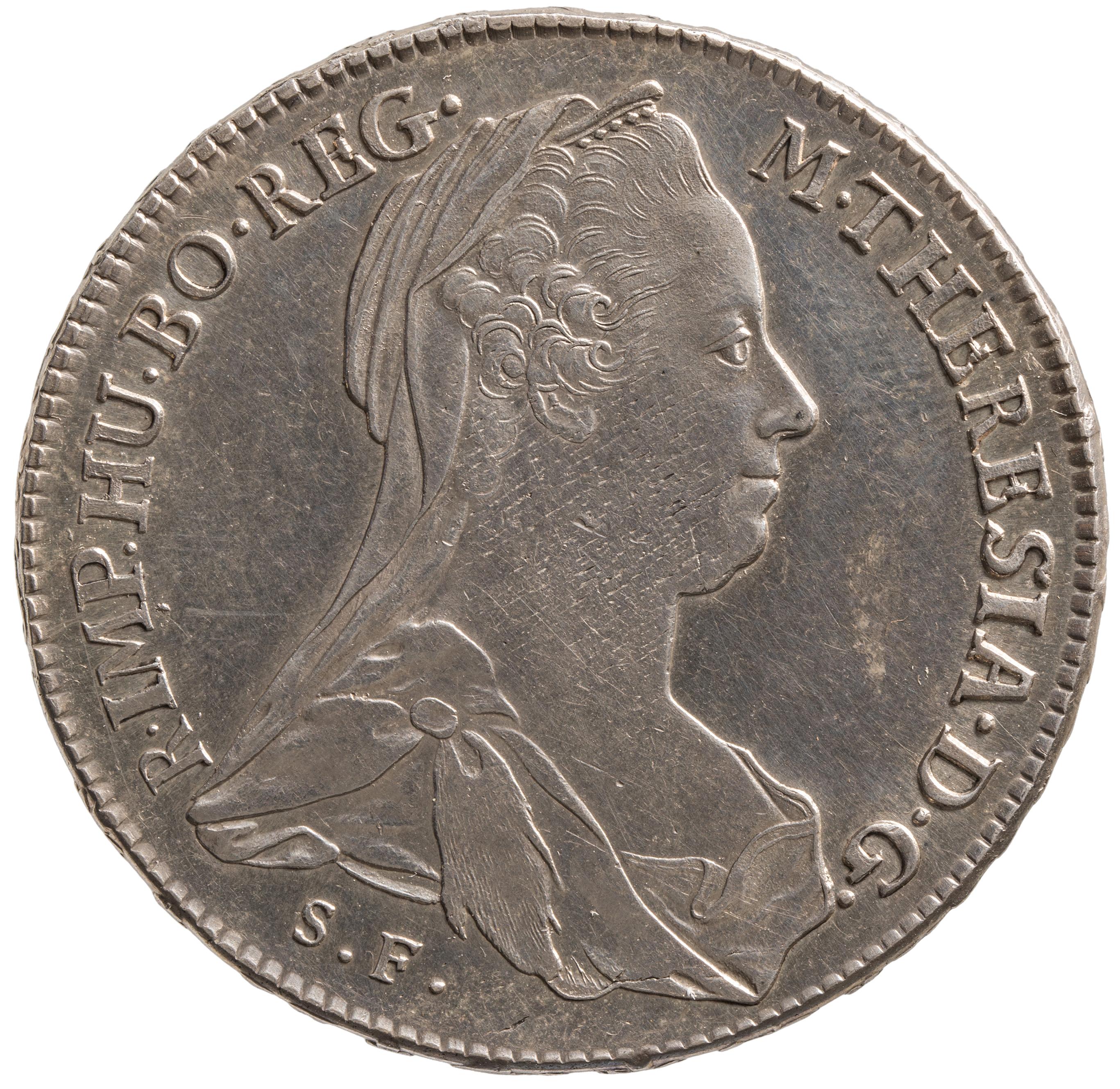 Haus Österreich: Maria Theresien-Taler von Joseph II., Leopold II. oder Franz II. - Levantetaler