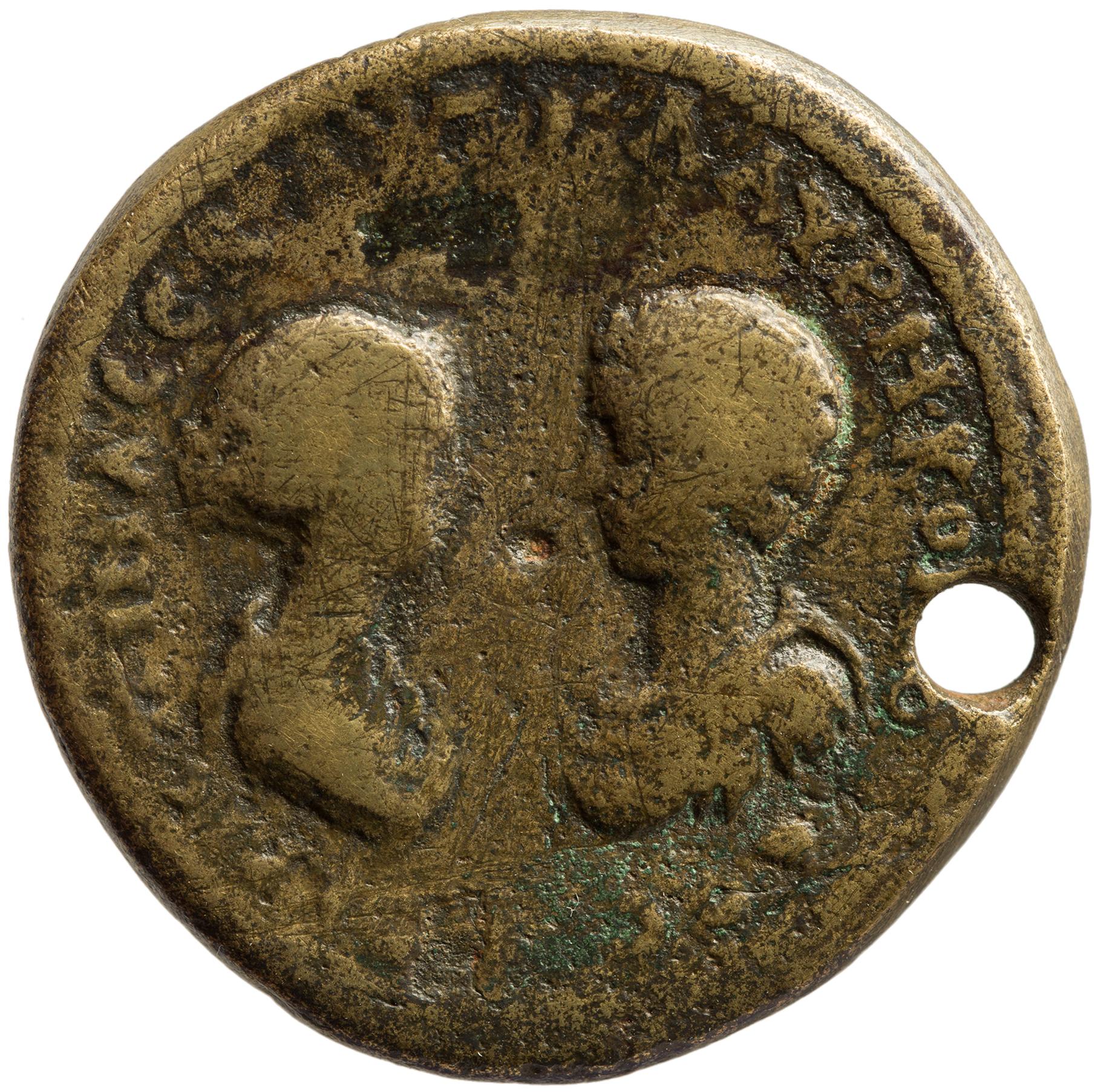 Byzantion: Commodus und Crispina von Crispina