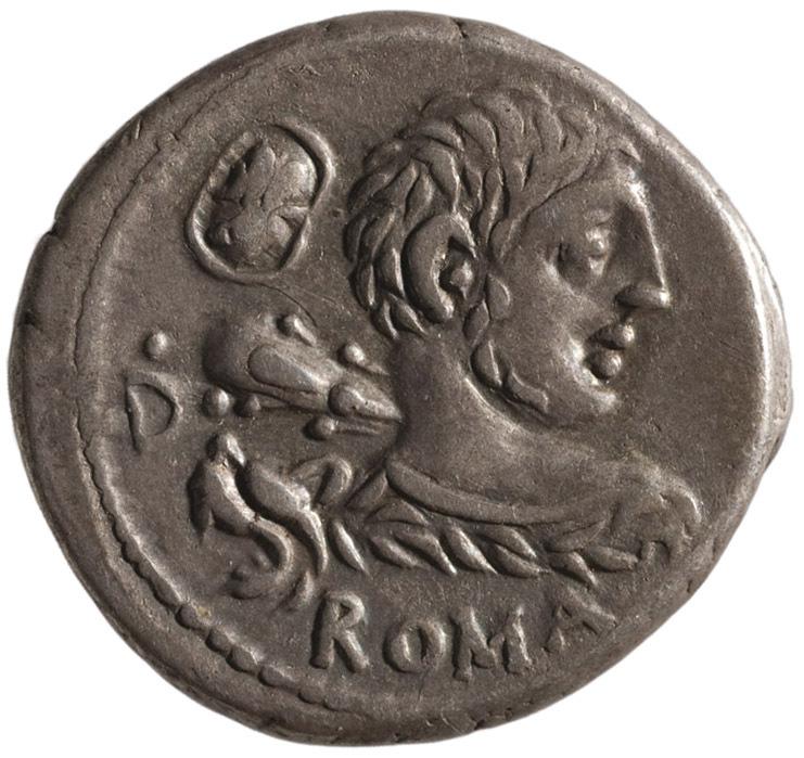 Röm. Republik: Lentulus Marcellinus von LENT.MAR.F