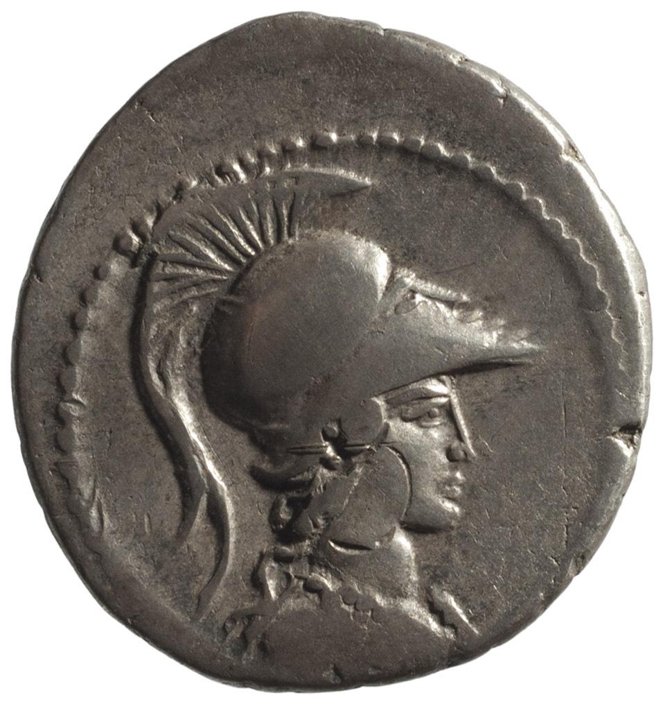 Röm. Republik: Gaius Vibius Varus von L.LIVINEIVS REGVLVS IIIIVIR A.P.F P. CLODIVS M.F IIII A.P.F L.MVSSIDIVS T.F LONGVS IIIIVIR A.P.F C.V(E)IBIVS V(A)ARVS
