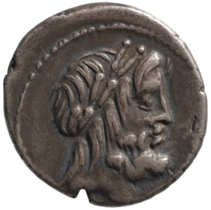 Röm. Republik: M. Volteius von M.VOLTEI M.F