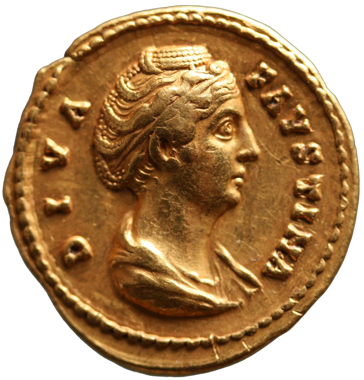 Diva Faustina I. (Maior) von Antoninus I. Pius