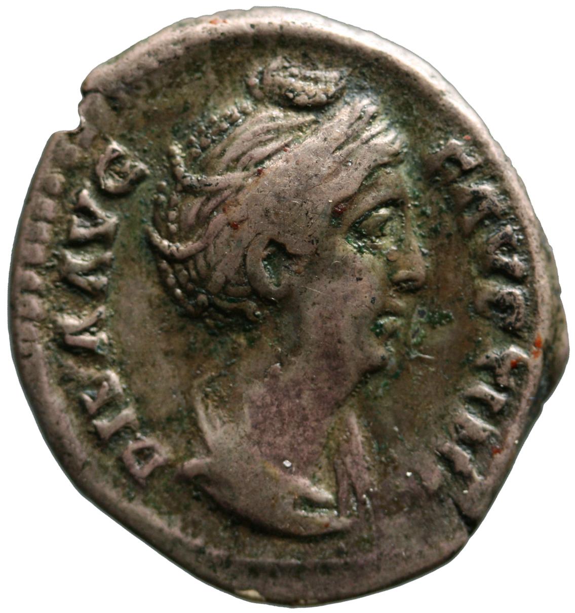 Diva Faustina I. (Maior) von Antoninus I. Pius für Diva Faustina I.
