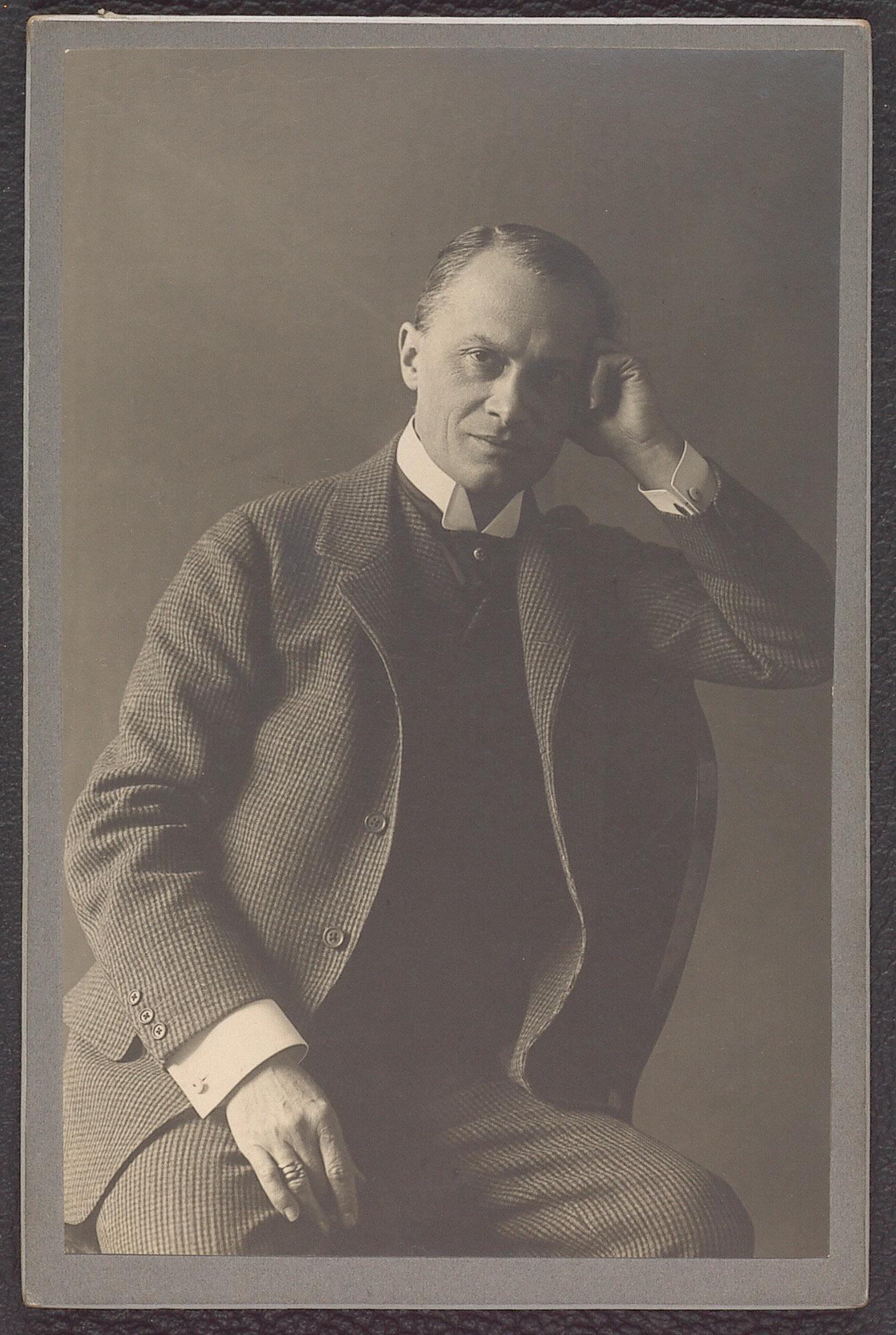Josef Kainz von Adolf Bernhard, Klosterneuburg