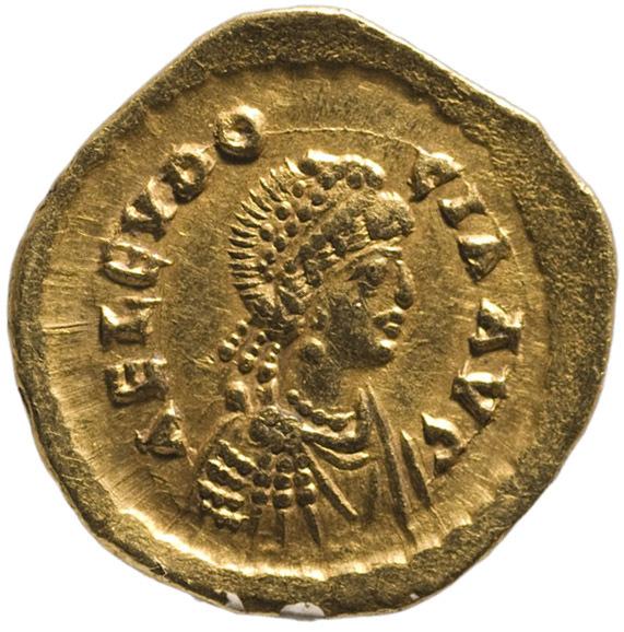 Aelia Eudocia von Theodosius II. für Aelia Eudocia