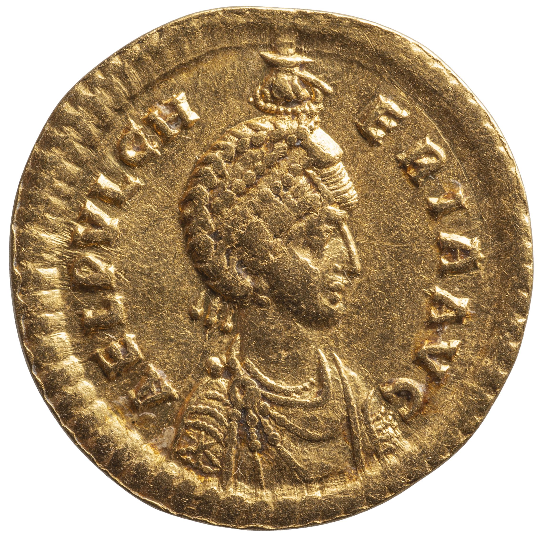 Aelia Pulcheria von Theodosius II. für Aelia Pulcheria