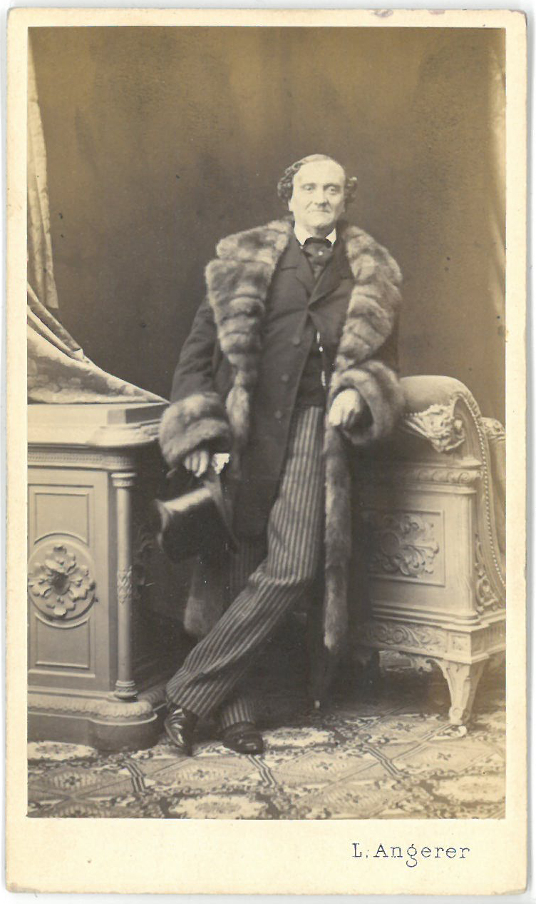 Johann Nestroy von Ludwig Angerer