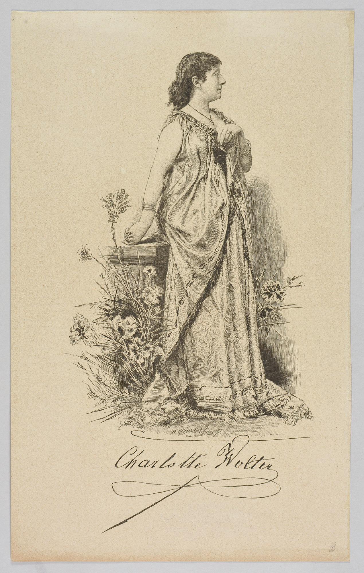 Charlotte Wolter von Wilhelm Krauskopf