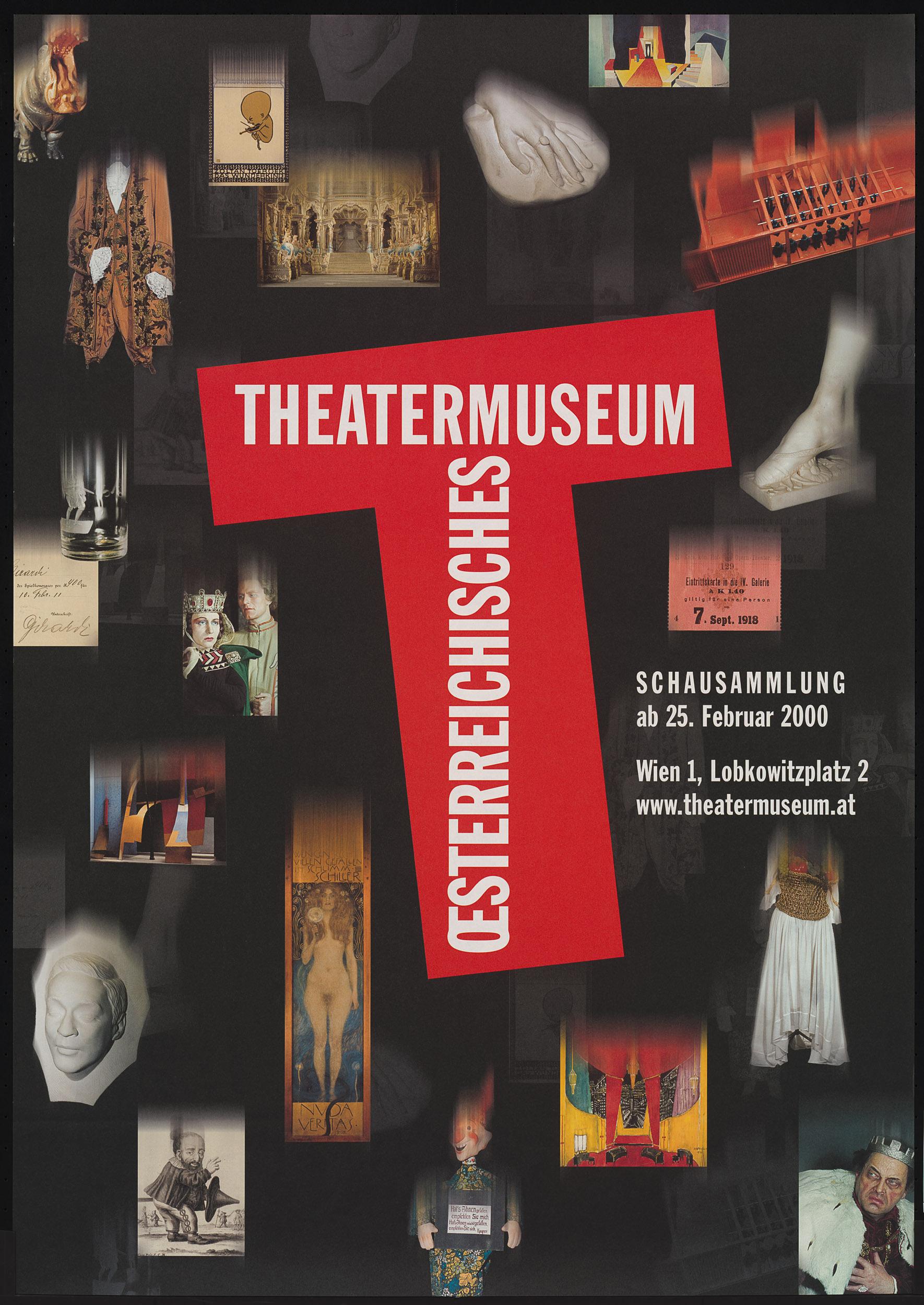 Schausammlung von Theatermuseum, Wien
