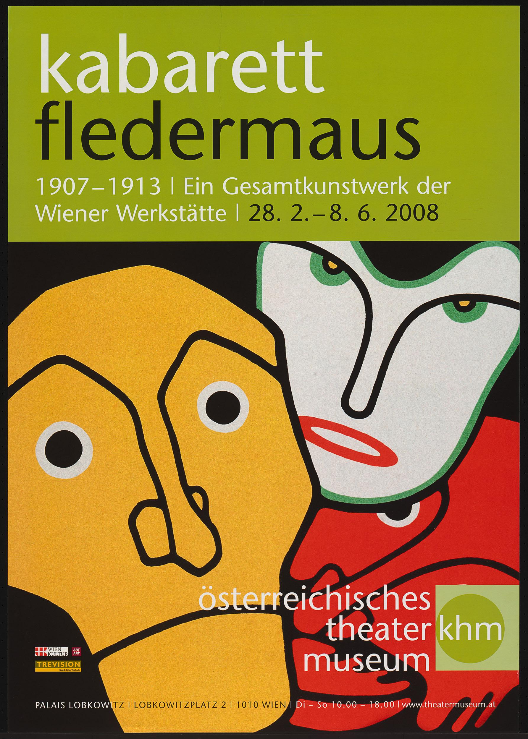 kabarett fledermaus. 1907 - 1913 I Ein Gesamtkunstwerk der Wiener Werkstätte von Theatermuseum, Wien