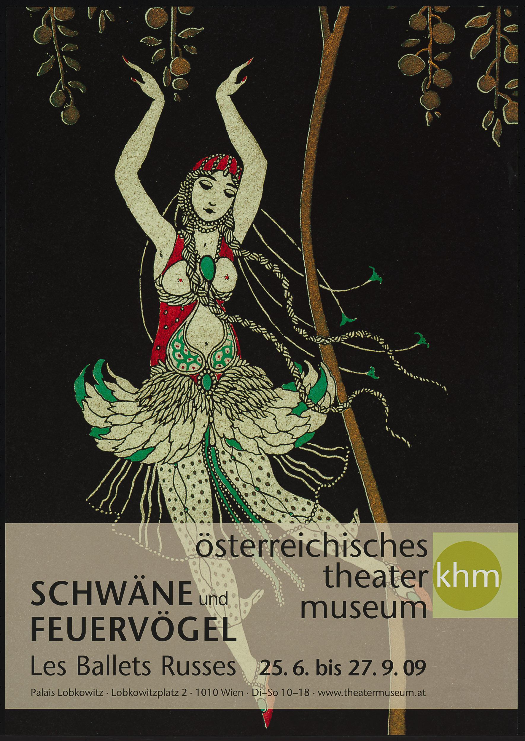 Schwäne und Feuervögel. Les Ballets Russes von Theatermuseum, Wien