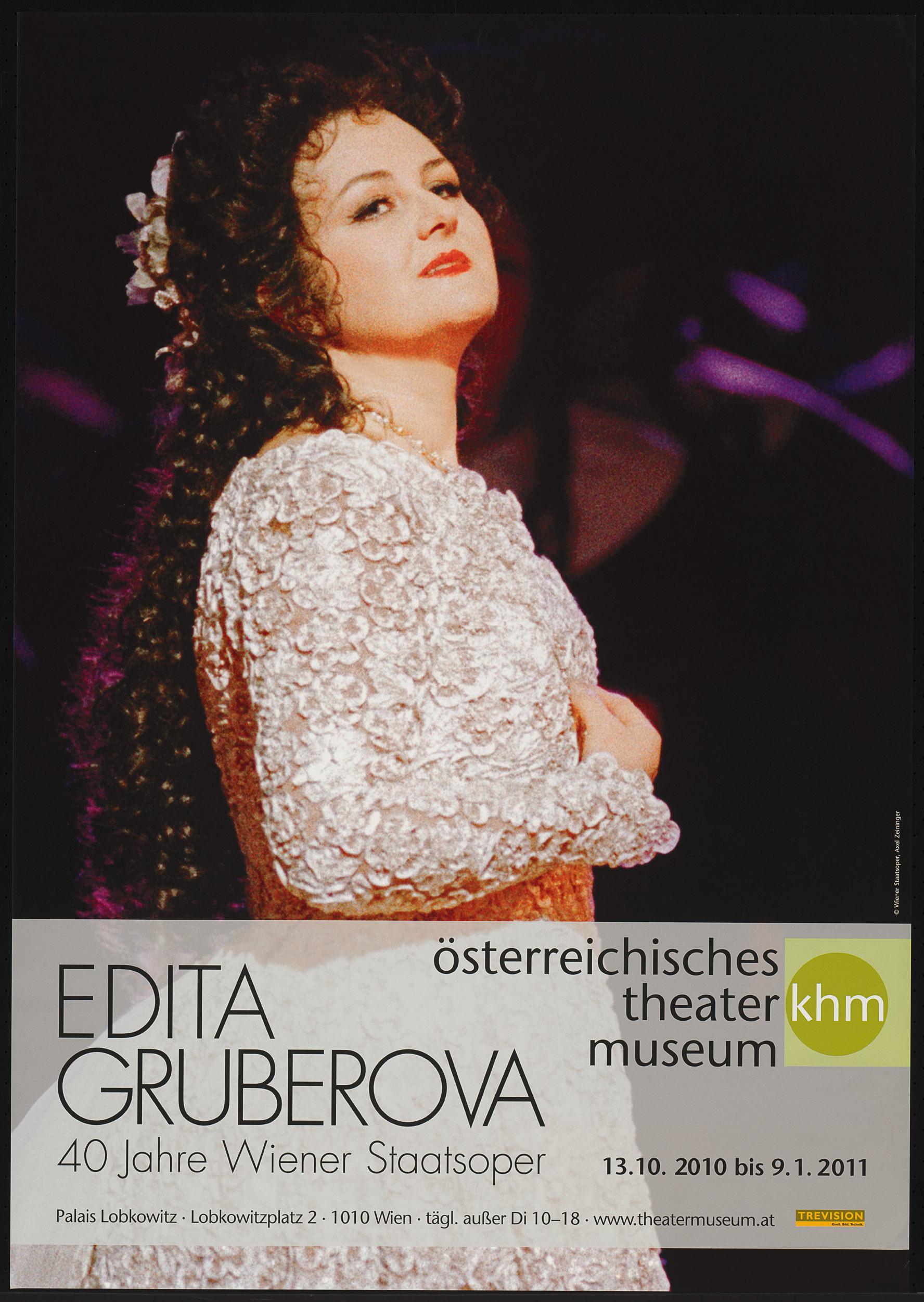 Edita Gruberova. 40 Jahre Wiener Staatsoper von Theatermuseum, Wien