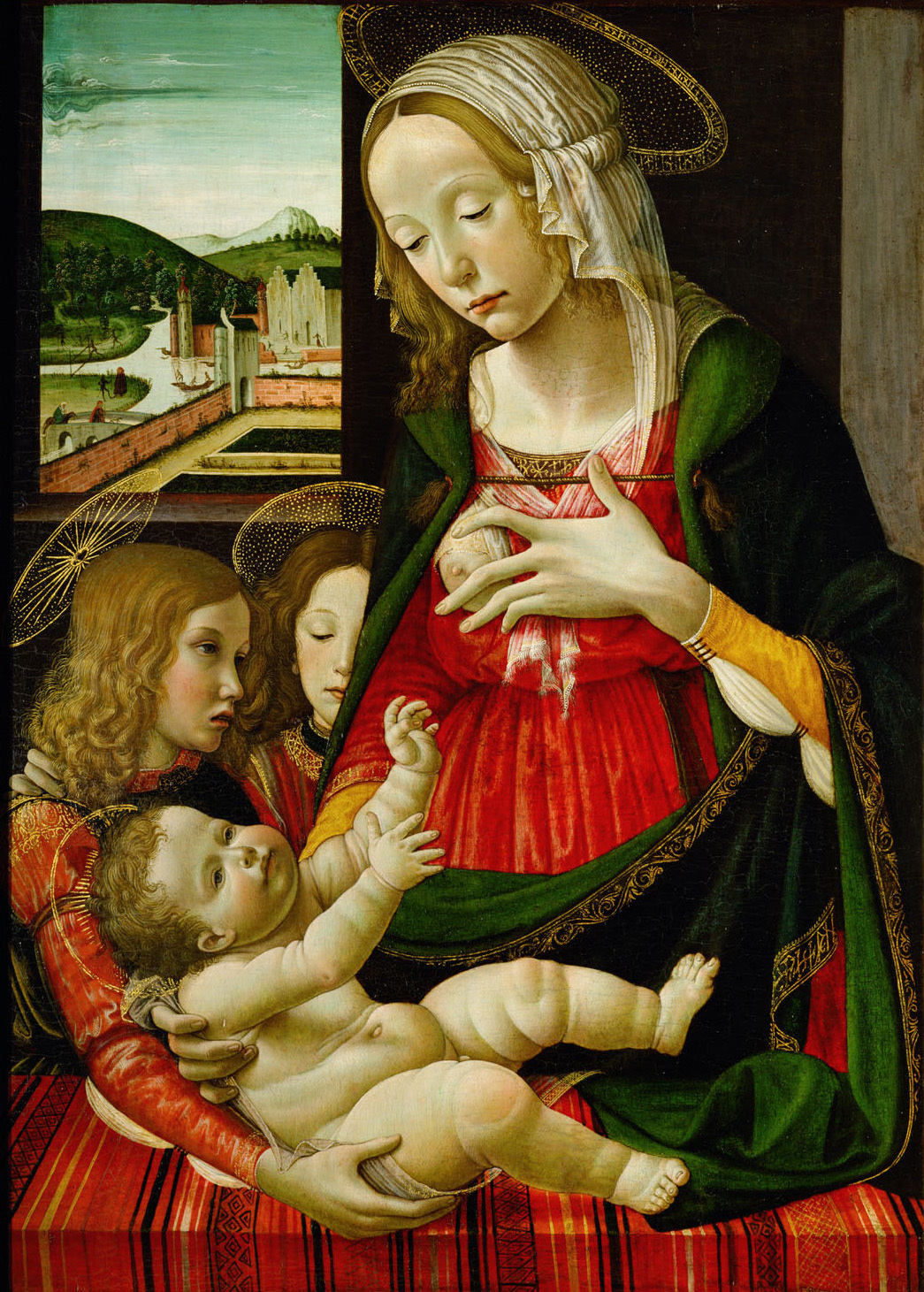 Maria mit Kind von Sebastiano Mainardi
