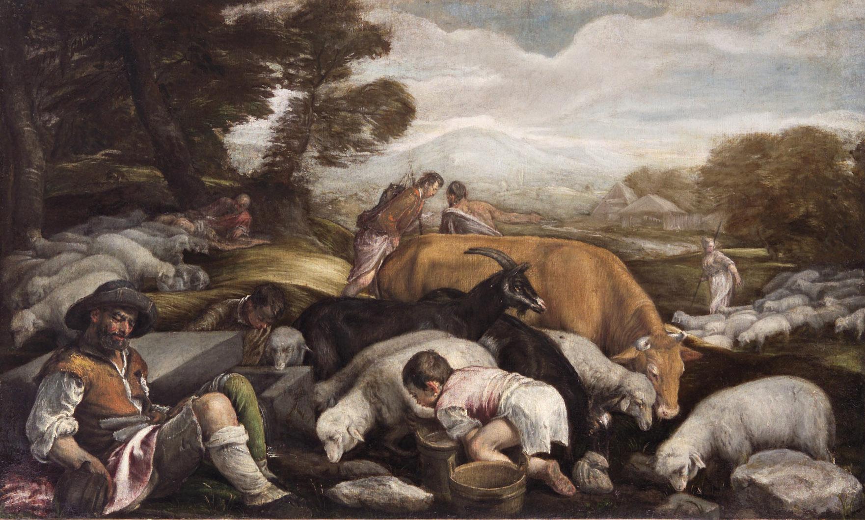 Jakob und Rahel von Francesco da Ponte, gen. Francesco Bassano