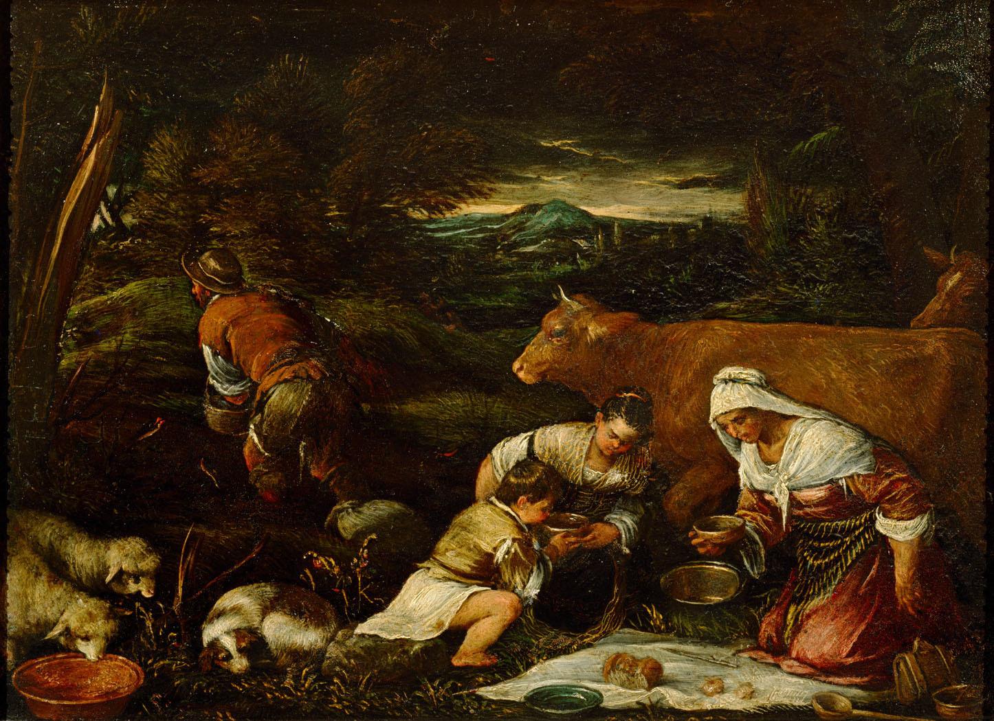 Sämann von Francesco da Ponte, gen. Francesco Bassano