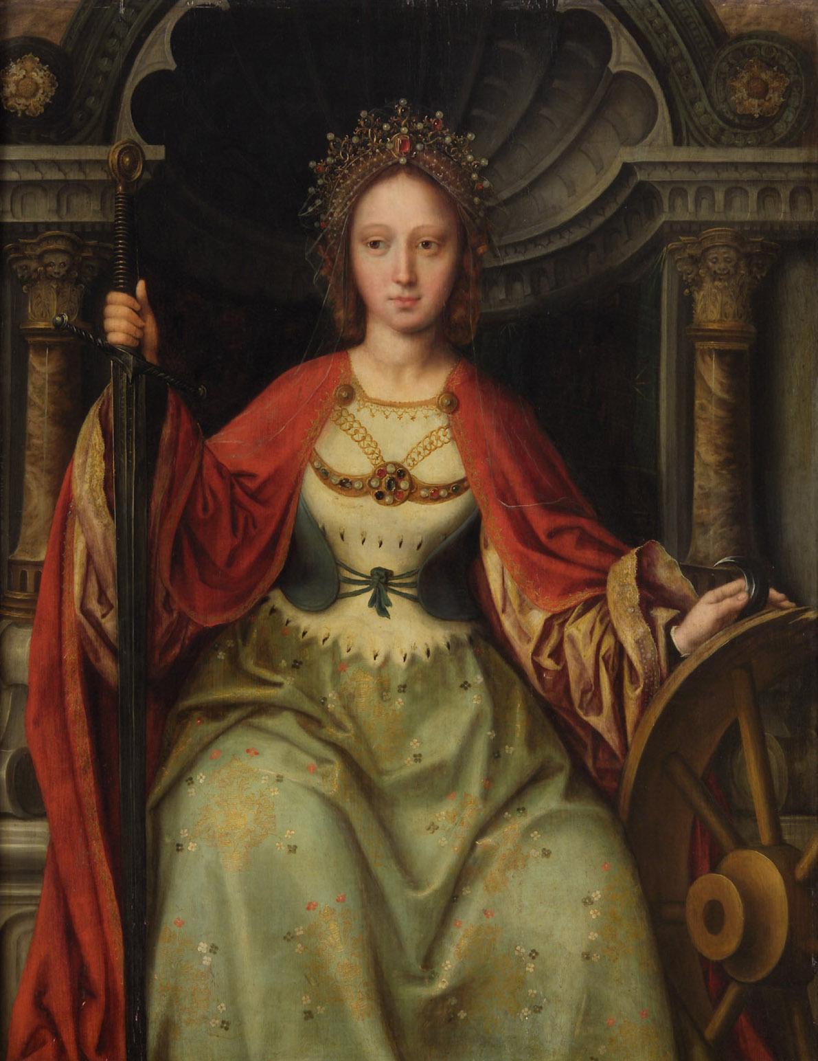 Hl. Katharina von Quinten Massys