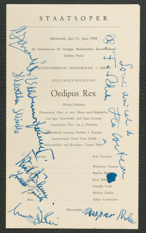 Oedipus Rex von Sophokles