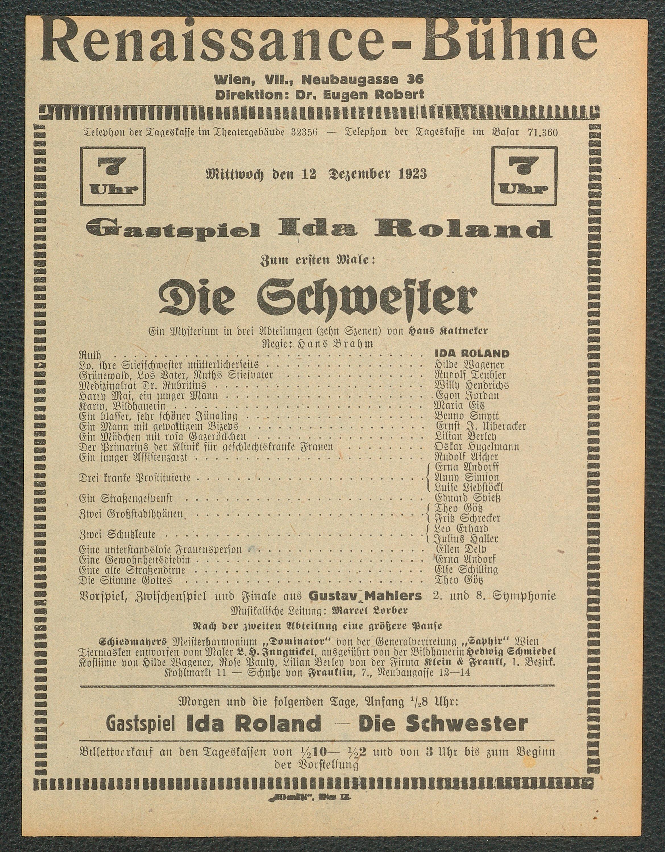 Die Schwester von Hans Kaltneker