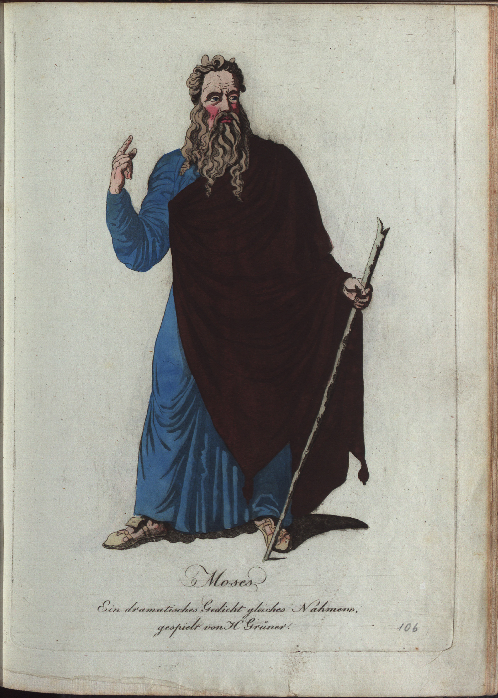 Moses von Philipp von Stubenrauch