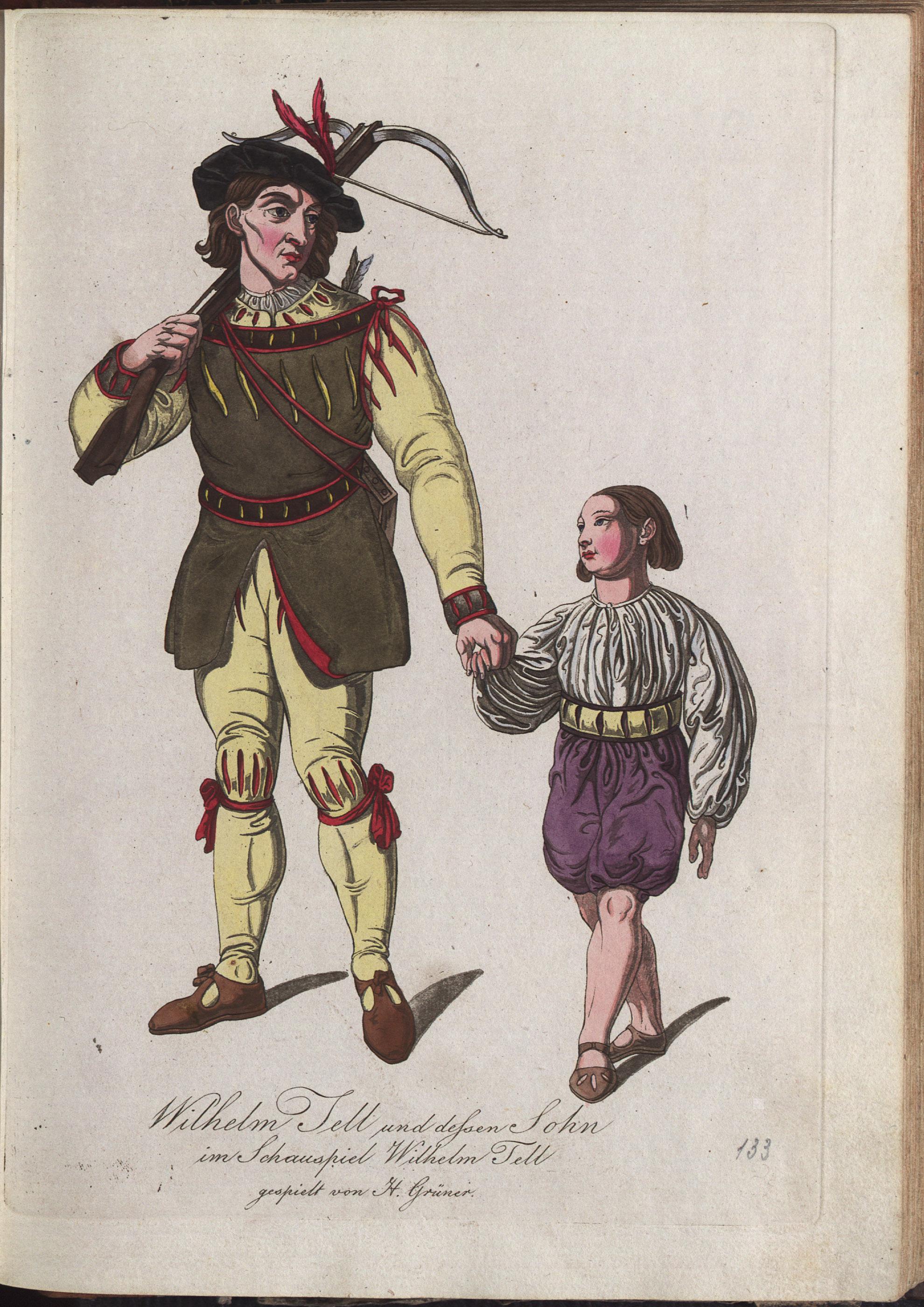 Wilhelm Tell von Philipp von Stubenrauch