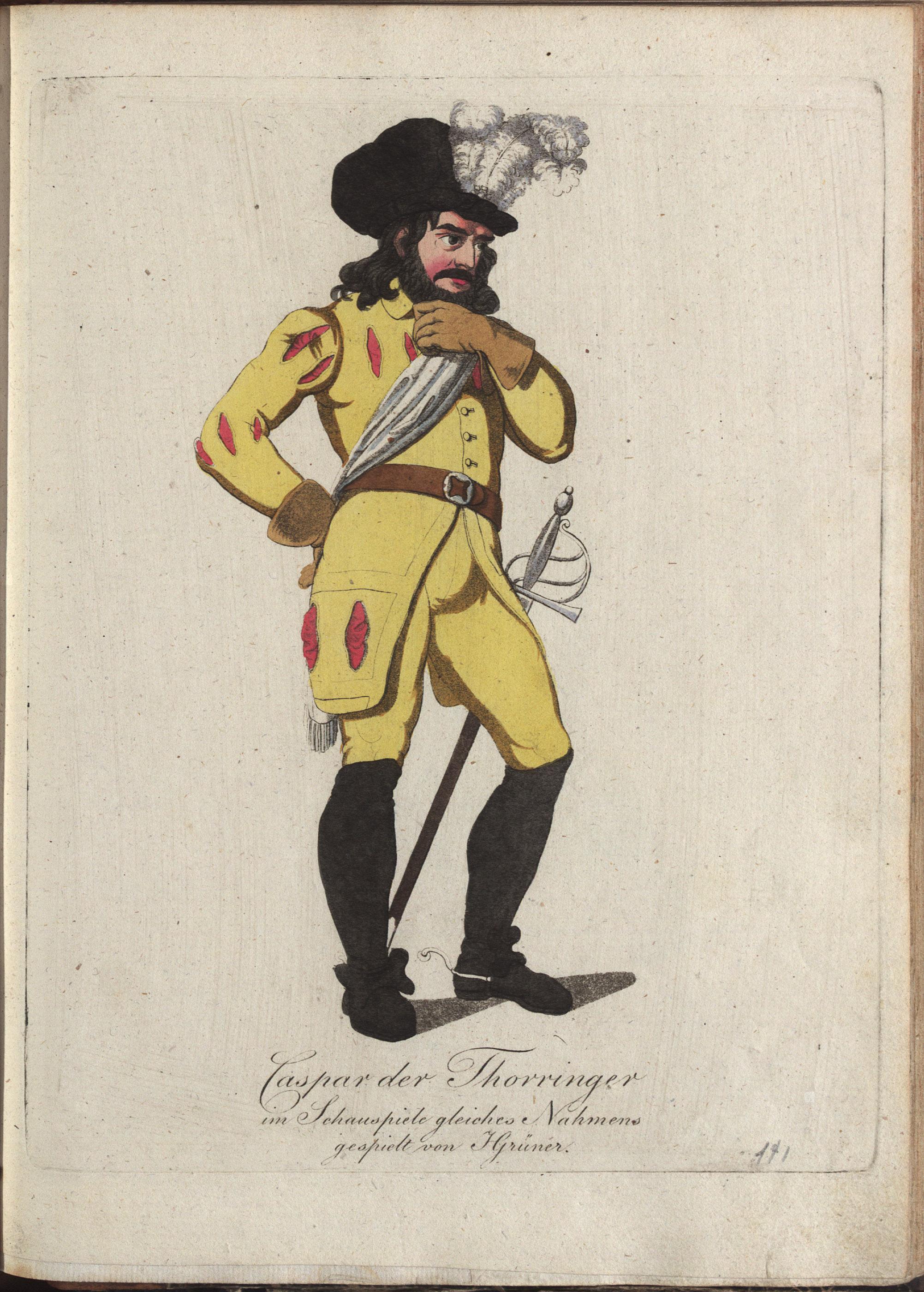 Caspar der Thorringer von Philipp von Stubenrauch