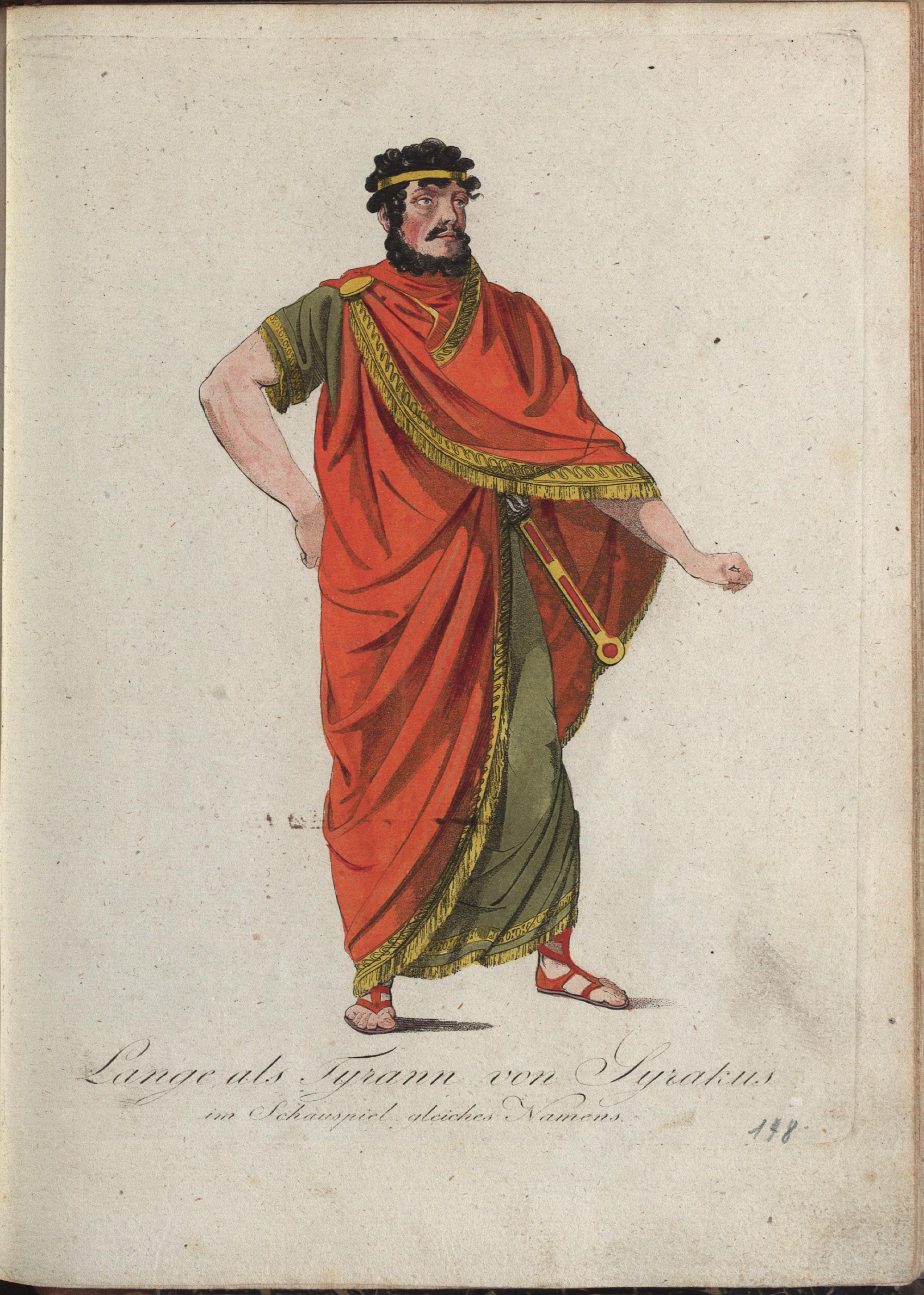 Der Tyrann von Syrakus von Philipp von Stubenrauch