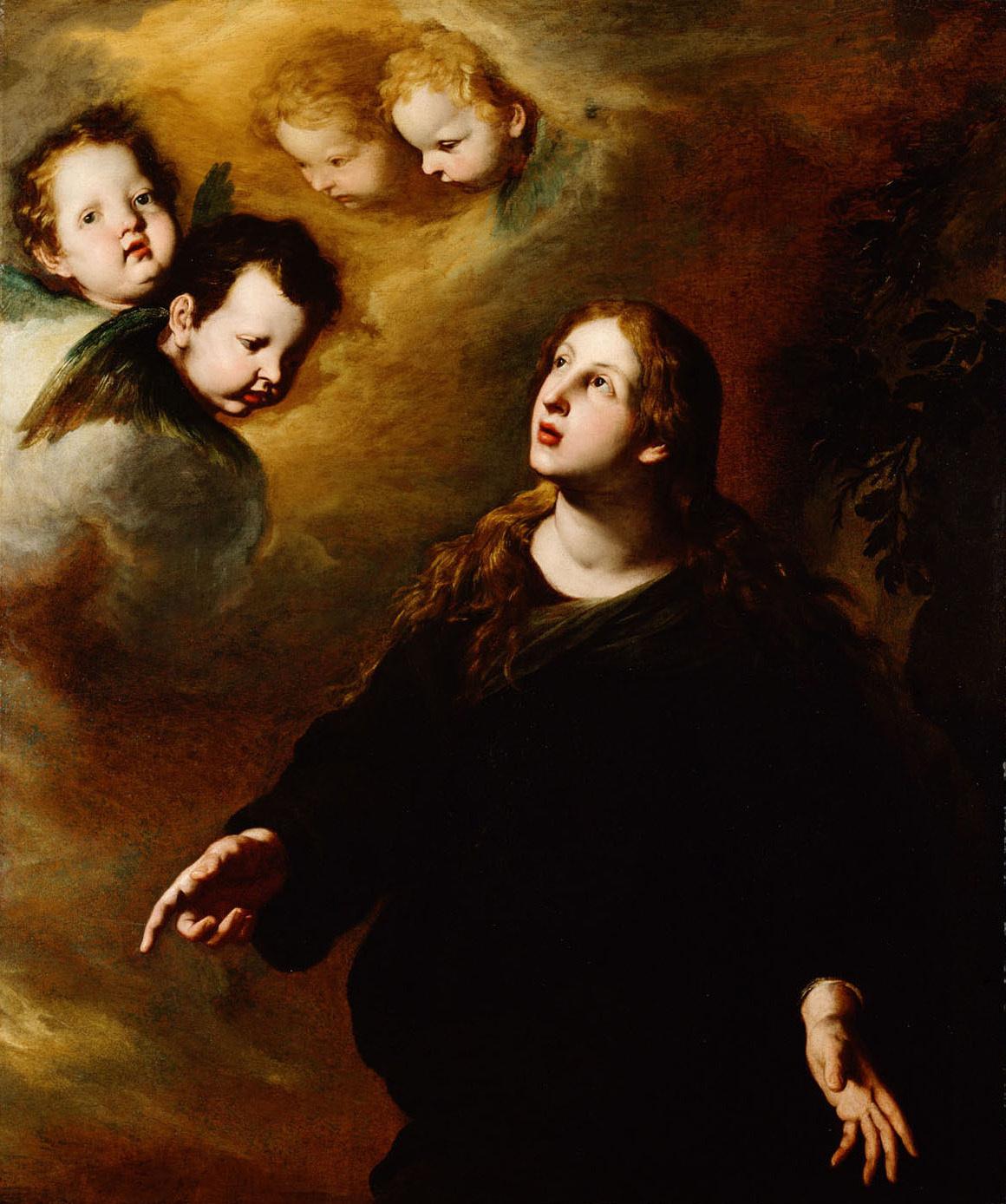 Hl. Maria Magdalena / Hl. Rosalia von Pietro Novelli, gen. Il Monrealese
