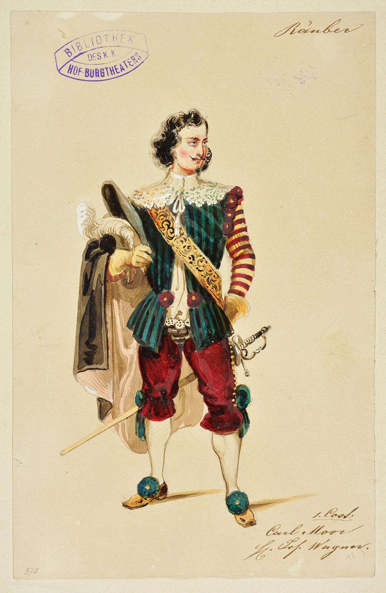 Die Räuber von Girolamo Franceschini