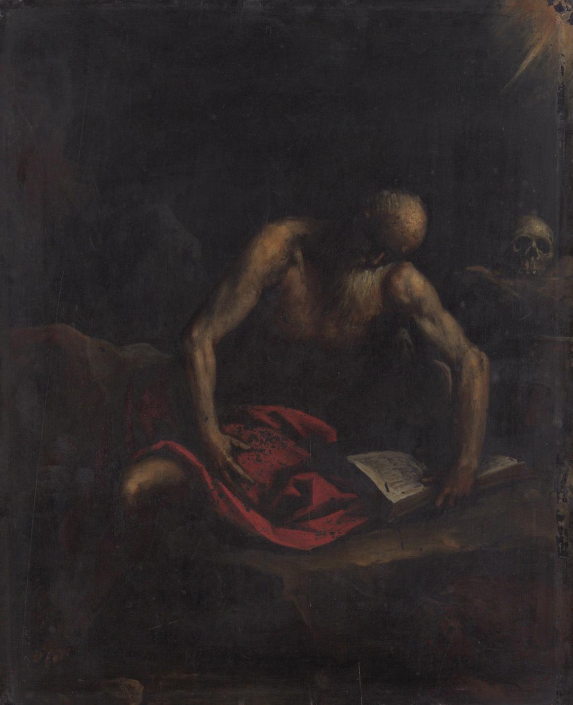 Hl. Hieronymus von Jacopo Negretti, gen. Palma il Giovane