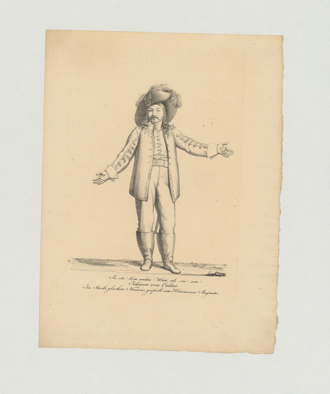 Hermann Augusti von Johann Nepomuk Muxel
