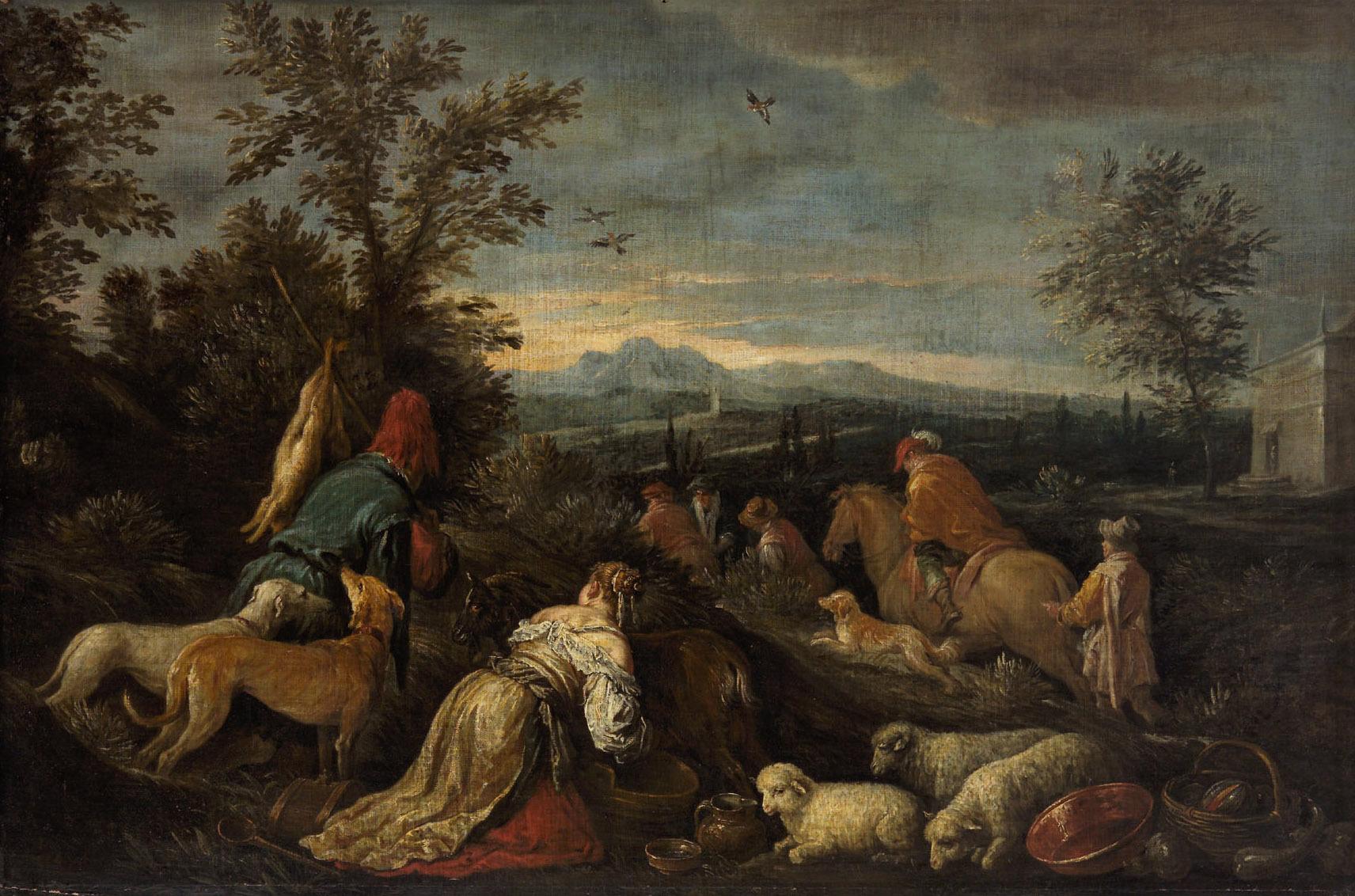 Jagd von Francesco da Ponte, gen. Francesco Bassano