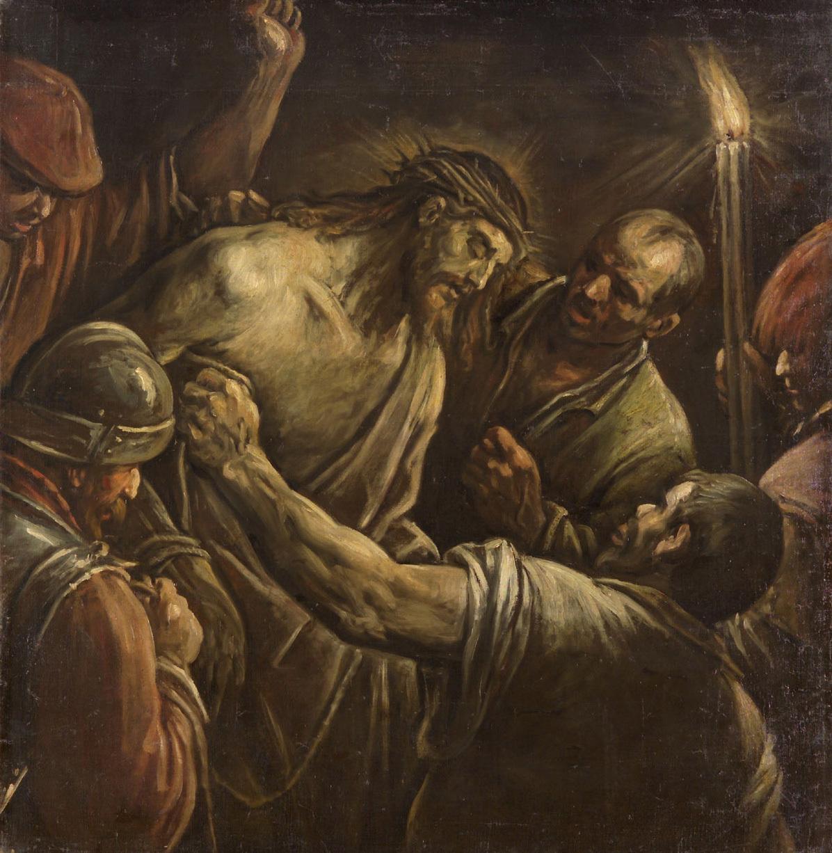 Verspottung Christi von Francesco da Ponte, gen. Francesco Bassano