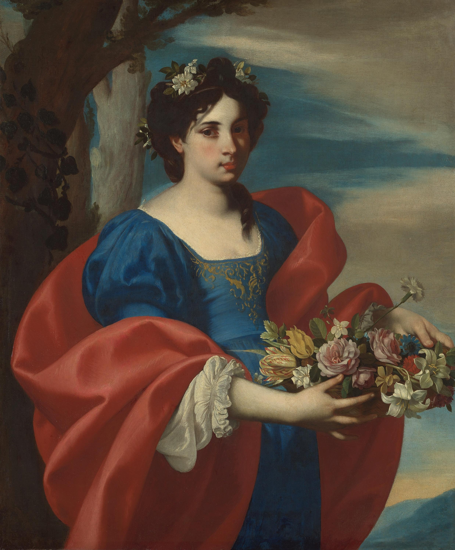 Flora von Francesco de Rosa gen. Pacecco de Rosa
