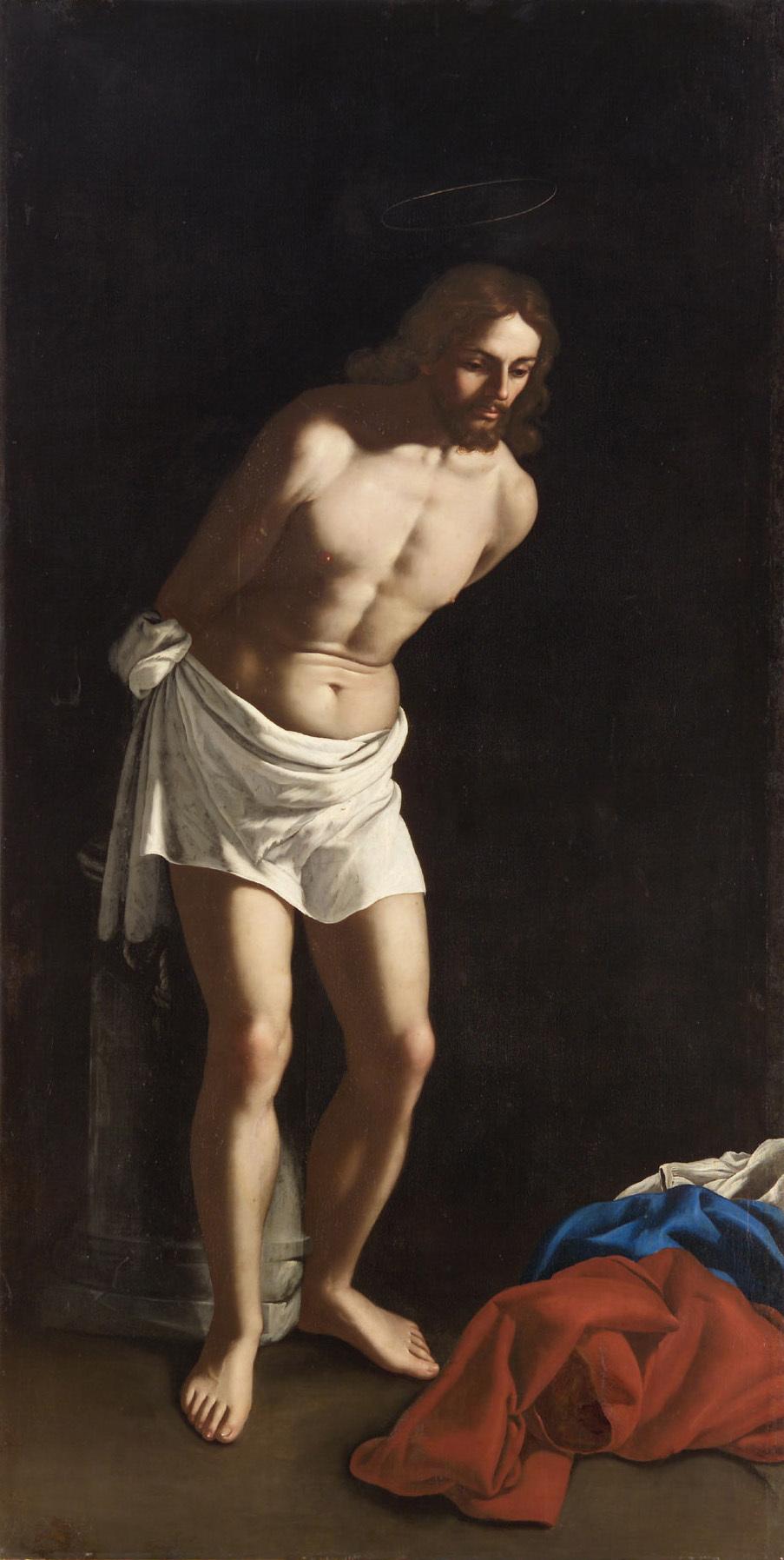 Christus an der Geisselsäule von Francesco de Rosa gen. Pacecco de Rosa