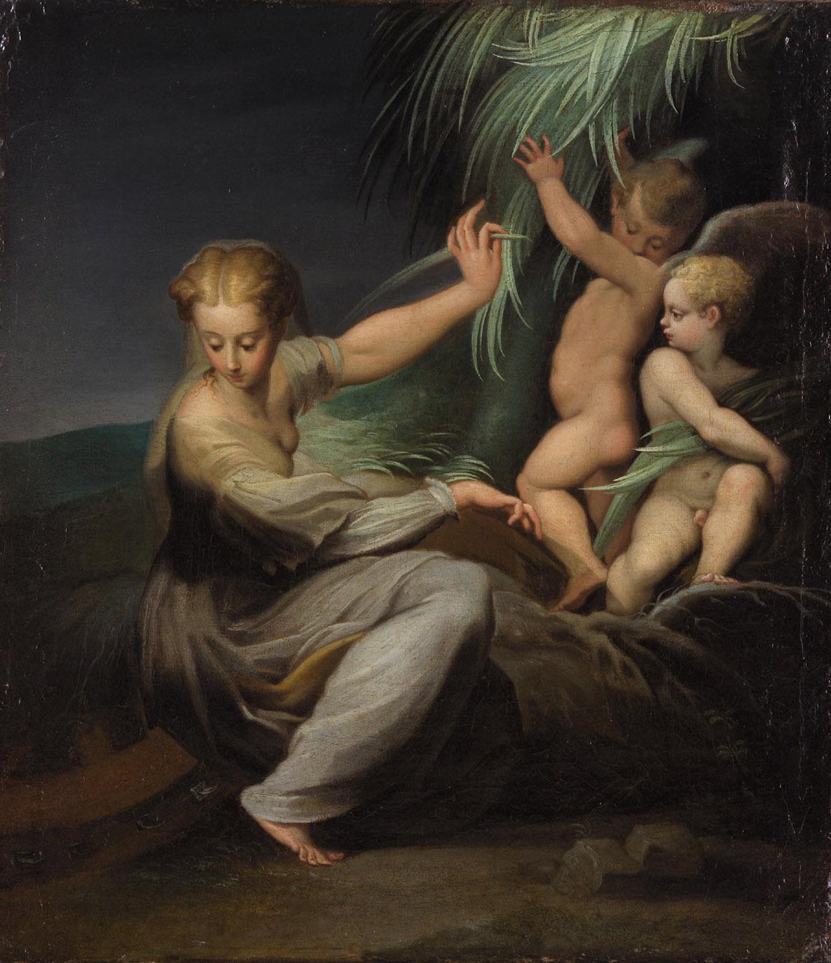 Hl. Katharina von Francesco Mazzola gen. Parmigianino