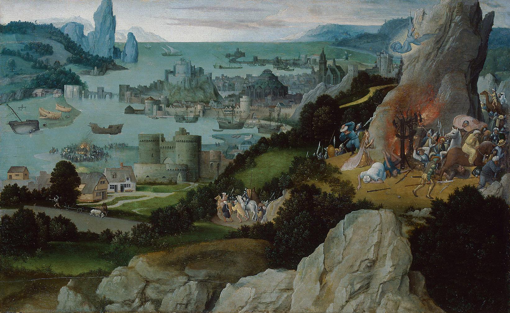 Radwunder der Hl. Katharina von Joachim Patinier