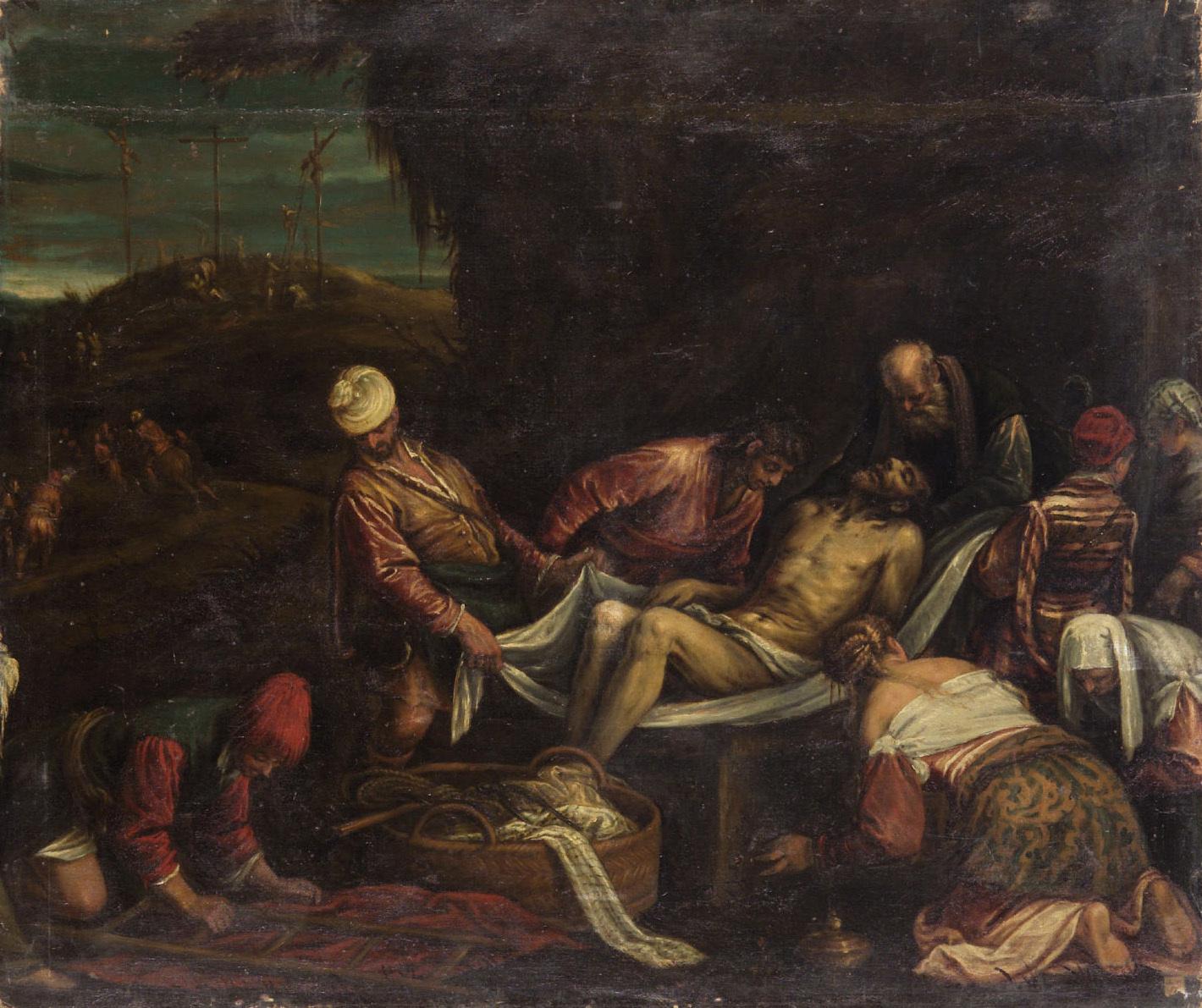 Grablegung Christi von Gerolamo da Ponte, gen. Gerolamo Bassano