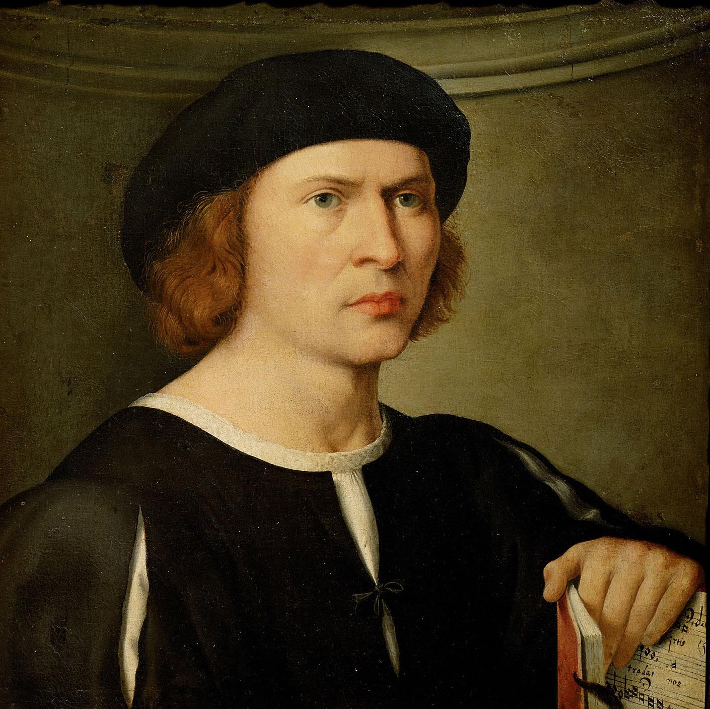 Bildnis eines Musikers von Giovanni Antonio de' Sacchi, gen. Pordenone