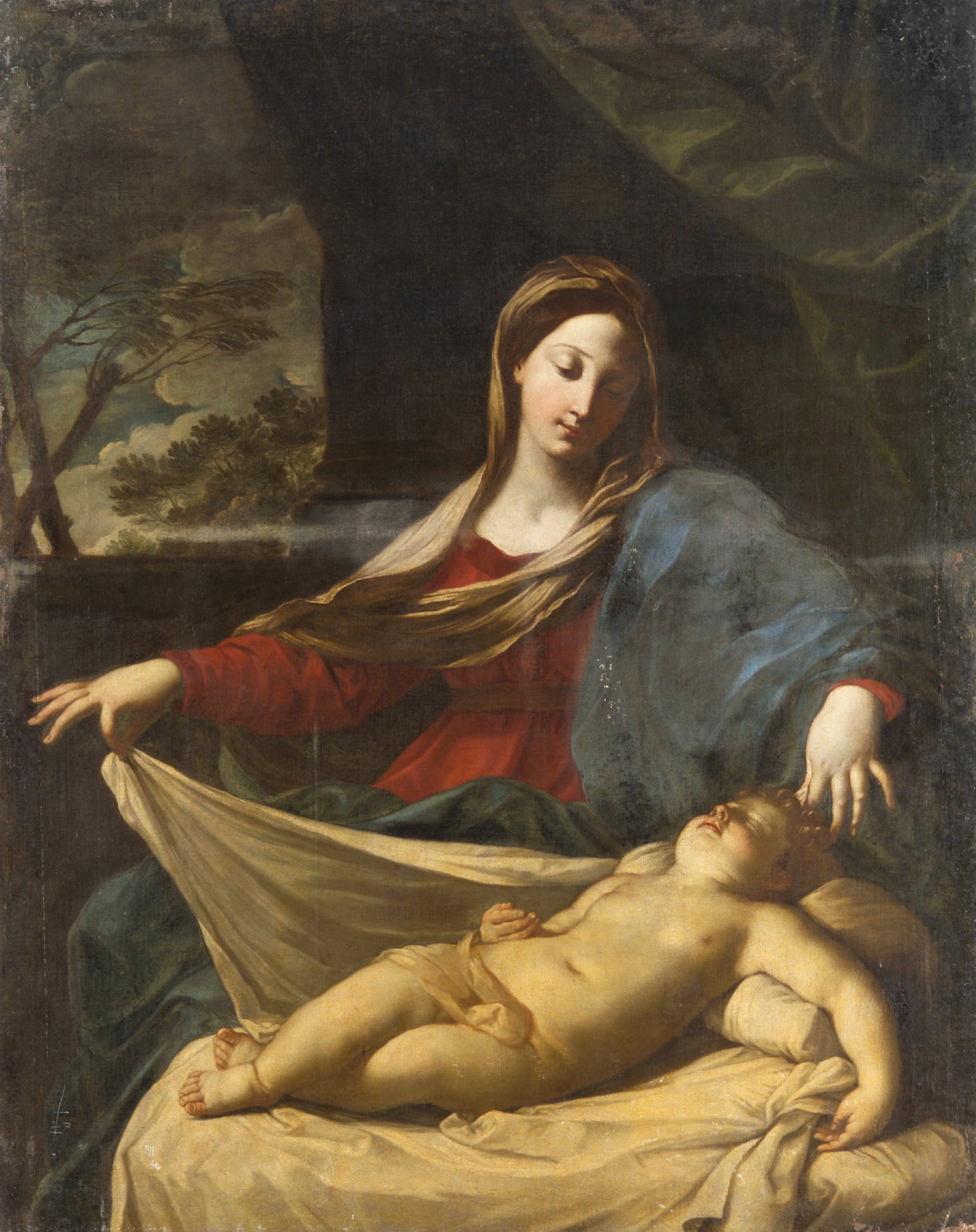 Maria mit Kind von Guido Reni