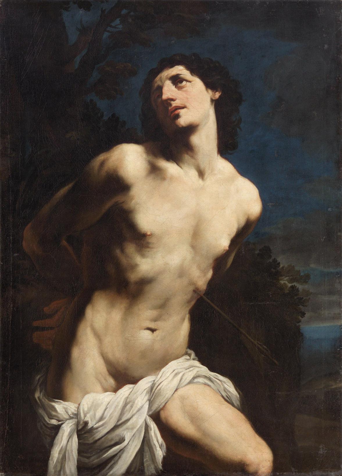 Hl. Sebastian von Guido Reni