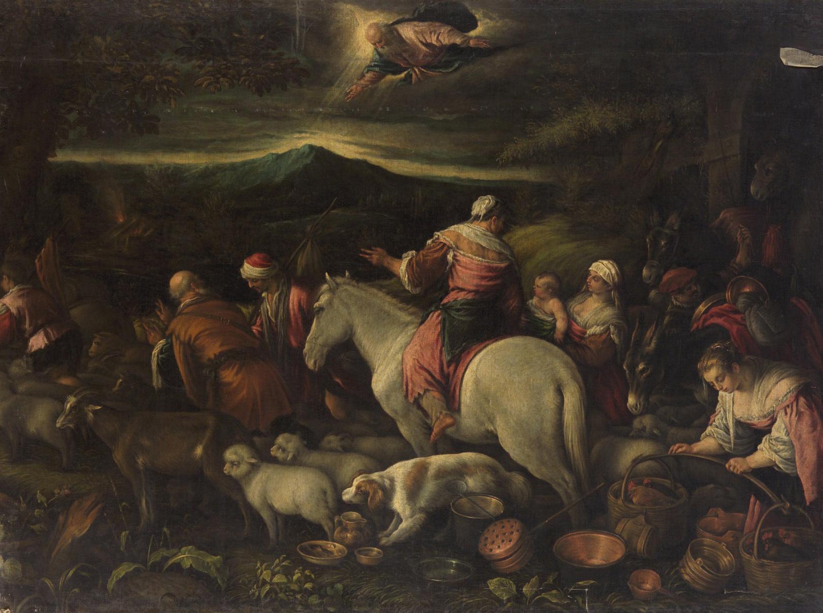 Aufbruch Abrahams ins gelobte Land