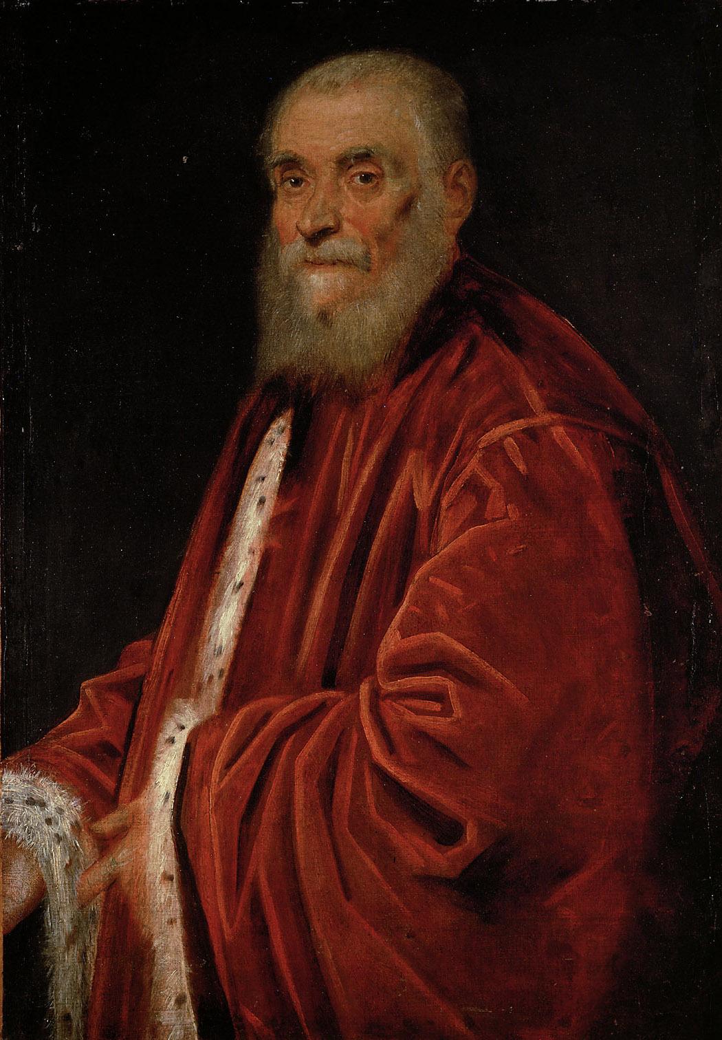 Bildnis des Senators Marco Grimani (gest. 1583) von Jacopo Robusti, gen. Tintoretto