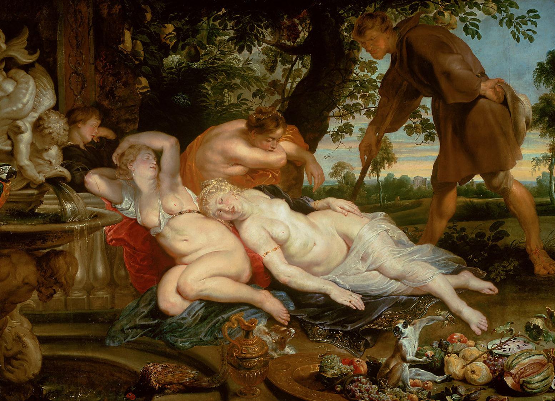 Cimon und Efigenia von Peter Paul Rubens