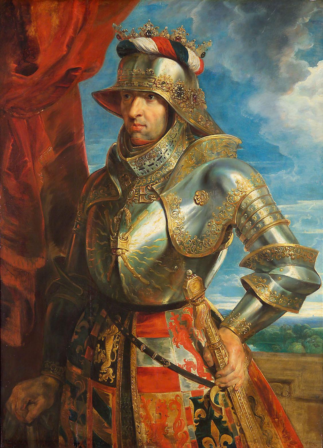 Philip der Schöne (1478-1506) von Peter Paul Rubens