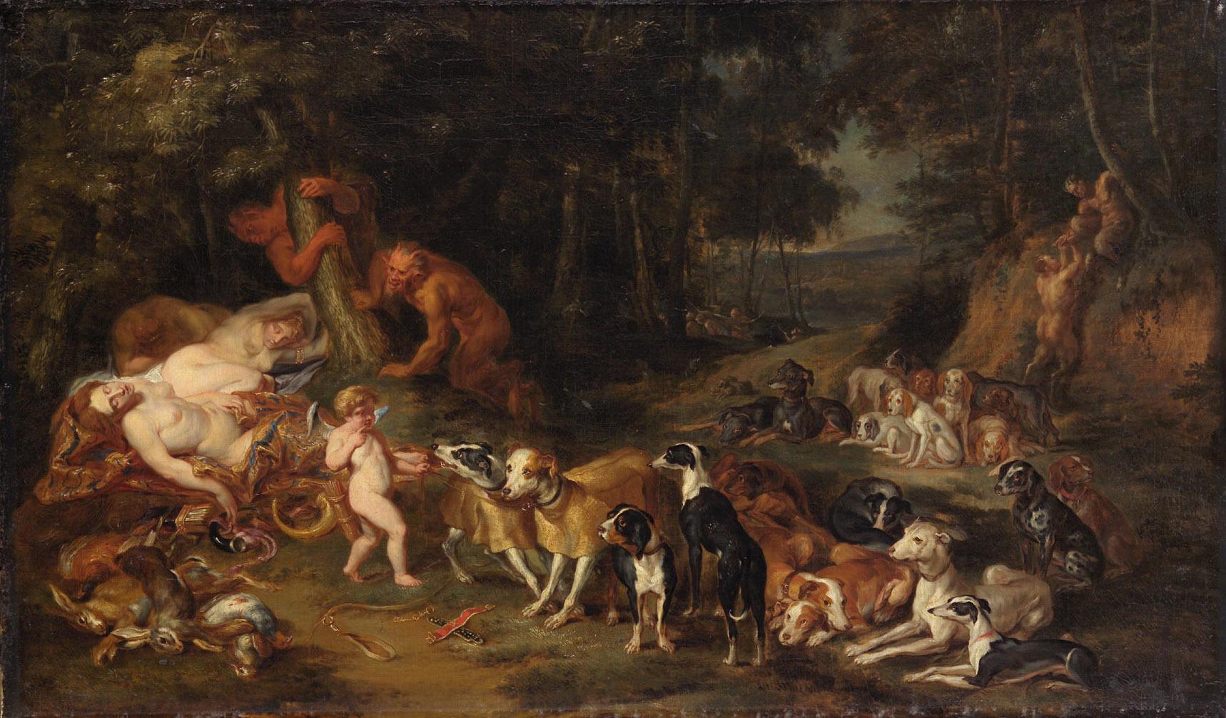 Rast der Diana von Peter Paul Rubens
