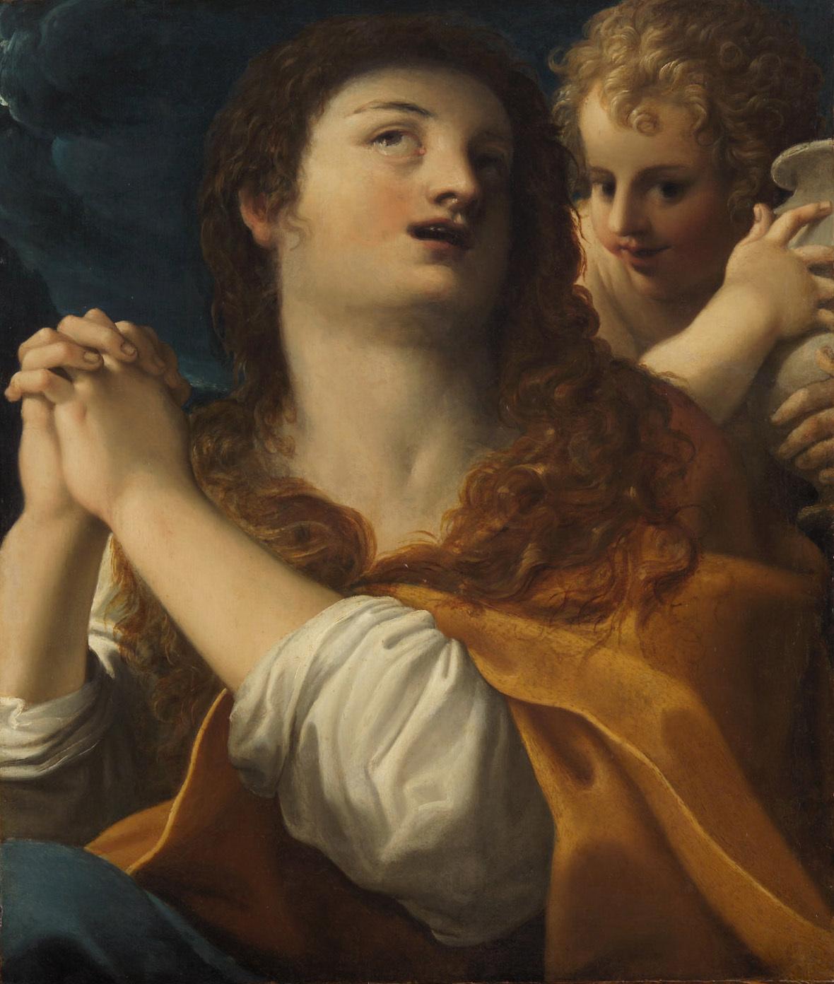 Büßende Maria Magdalena von Bartolomeo Schedoni