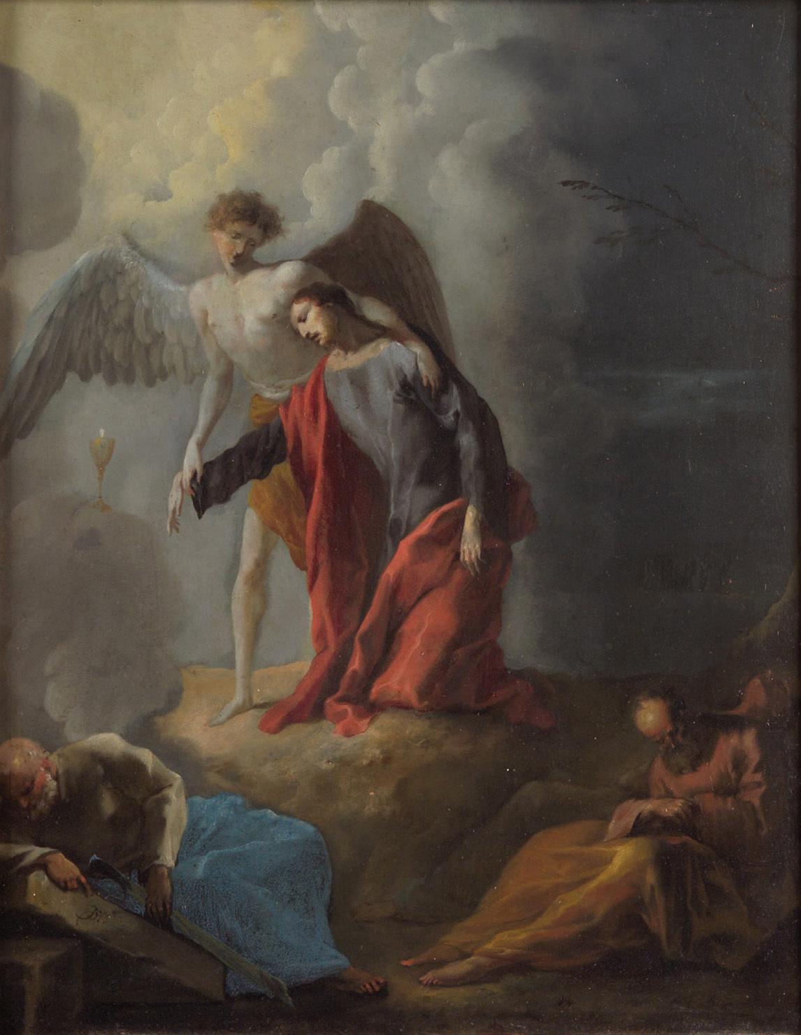 Christus am Ölberg von Johann Heinrich Schönfeld